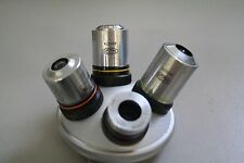 Olympus Microscope Turret with Neo 5, 10, 20, 40 objectives