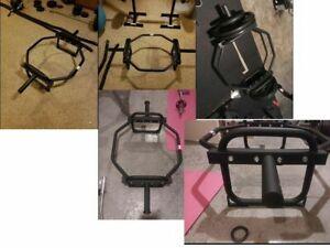 CAP BARBELL Olympic Trap Hex Bar Shrug Deadlift Gym Home Strength Training PICK