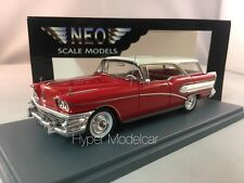 NEO SCALE MODEL 1/43 Buick Century Caballero SW 1951 Red Art. 45001