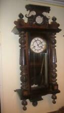 Antique Rare Gustav Becker Silesia Wall Clock