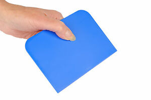 BLUE Pastry Bread Dough Cake Decorating Baking Bench Scraper 14cm x 10cm S7324
