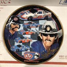 Ron Crawford Signature Plate NASCAR #43 Richard Petty STP  25th Anniversary