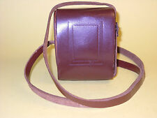 Vintage case in leather for Bilora Boy in very good condition!