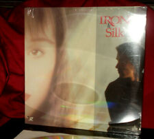 New 'IRON & SILK' - Martial Arts Action on Digital 12-Inch Laser Disc, SEALED