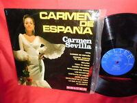 CARMEN SEVILLA Carmen de Espana LP 1967 SPAIN MINT- First Pressing