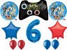 SONIC Hedgehog Balloon Bouquet 6th Birthday Party Supplies Decorations Favors