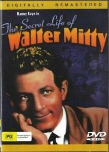 The Secret Life of Walter Mitty DVD 1947 Danny Kaye New  Australian Release