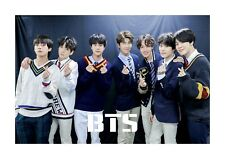 BTS (2) A4 landscape photograph picture poster choice of frame great gift
