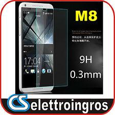 Pellicola in Vetro Temperato per HTC One M8Rinforzato Proteggi Schermo