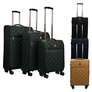 Stoffkoffer 4 Rollen Stoff Trolley Reisekoffer Koffer Kofferset SIGN SG-03