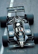 Elio de Angelis JPS Lotus 91 Gran Premio de Mónaco 1982 fotografía