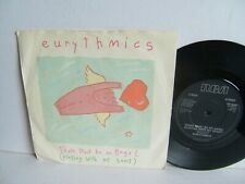 "Eurythmics - There Must Be An Angel (Playing With My Heart) PB 40247 UK 7"" 1stP"
