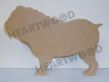 125mm x 18mm thick TIBETAN TERRIER DOG SHAPE  IN MDF //WOODEN CRAFT SHAPE