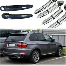 Fit for BMW X5 E70 2008-2013 Sport Carbon Fiber Door Handle Bar Cover