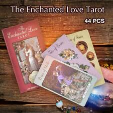 44 Cards The Enchanted Love Tarot Cards Deck for Indoor Family Tarot Cards Game