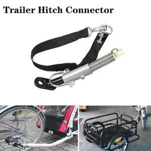 Universal Bike Hook Connection Adapter Trailer Hitch Coupler Linker Attachment