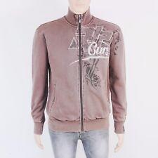Rip Curl Mens Size S M Zip Up Brown Sweat Shirt Jacket