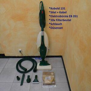 Vorwerk Kobold 131 Grundgerät EB 350 Stiel Kabel Zubehör