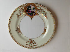 """Hand Painted Abura China A1U1 Occupied Japan Gold Embossed - 7-1/2"""" BREAD PLATE"""