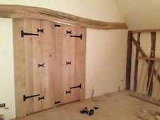Solid Oak Doors/ T&G Ledge Pencil Bead Farmhouse/Cottage/Barn Doors/ Handmade