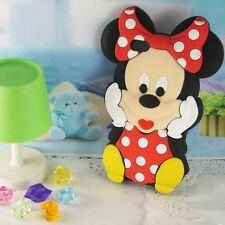 Cartoon Minnie Mouse Soft Silicone Case Cover For Apple iPhone 4 4S