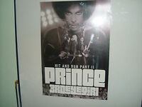 PRINCE.HIT AND RUN PART 11.TOUR POSTER LITHOGRAPH.NEW MINT
