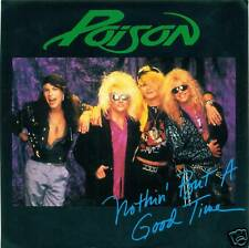 """POISON Nothin' ´ But a Good Time Single 7 """" S2983"""