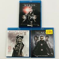 Blade 1 2 3 (Trinity) on Blu-ray - Wesley Snipes Trilogy