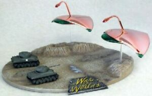 2009 1/144 War of the Worlds: war Machines vs Sherman Tank new plated model kit