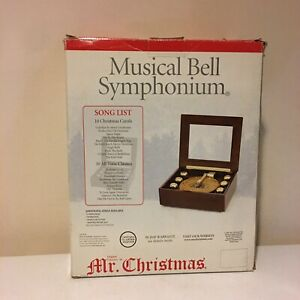 Mr Christmas Musical Bell Symphonium 20 Discs Classics & Carols New Open Box