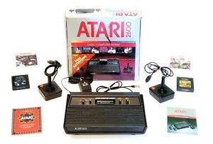 Atari 2600 Video Game Console, Complete with 1 Brand New Controller, Tested