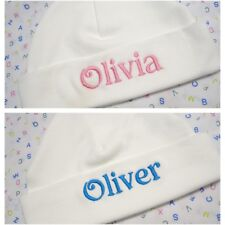 Personalised Baby Hat - Beanie,  Any name embroidered.