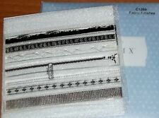 CTMH C1269 FABRIC FINISHES ~ ZIPPER, Decorative Stitching, BIAS TAPE, Lace,