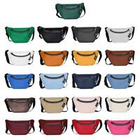 Fashion Fanny Chest Bag Women Leather Shoulder Messenger Pack Waist Belt Purse