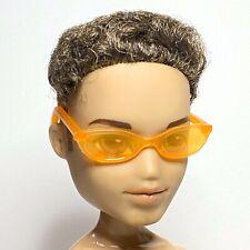 Bratz Boyz Doll Sunglasses Sun Eye Glasses Eyeglasses Plastic Transparent Orange