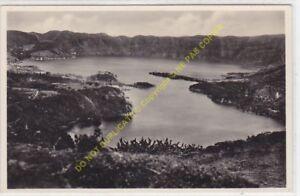 CPSM PORTUGAL As lagôas azul e vêrde das Sete Citades São Miguel Açores
