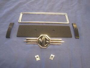 MG NEW MGB ROADSTER GT MGC MGA V8 RADIO BLANKING BLANK PLATE KIT ARH59K EB111