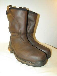 Ariat Intrepid Brown Square Composite Toe H2O Work Boot 10020081 Size 11.5 EE