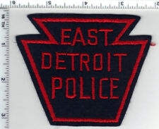East Detroit Police (Michigan) Rare Felt Shoulder Patch from the 1970's