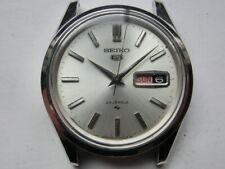 Seiko 5 Men's Watch Automatic 5126-8020 Case:37mm Face:Silver Rank:A