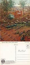 US CIVIL WAR CYCLORAMA BATTLE OF ATLANTA ATLANTA GEORGIA UNUSED COLOUR POSTCARD