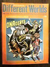 Different Worlds Magazine #34 - (May/June 1984) Superhero Issue (Fine Condition)
