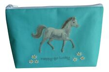 New - Horse washbag, make-up bag by Pony Maloney - horsey gift