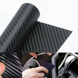 Car Interior Accessories Panel Carbon Fiber Vinyl Wrap Sticker Universal UK SALE