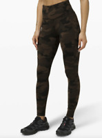 """New with tags Lululemon Women Fast Free HR Tight 28"""" Nulux CAMO Size 6 Sold out"""