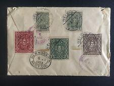 1922 Weis Austria Registered Cover to Richmond Virginia USA