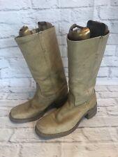 Frye Vintage 1970s Campus Toe Boots Mens Size 12 D Style # 2552 Cowboy j1c