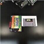 Super Mario All-Stars + Super Mario World RPG Game Card Battery Save  Retail Box