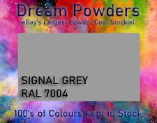 RAL 7004 Signal Grey Powder Coat 1kg Coating Refurbishment Alloy Wheel