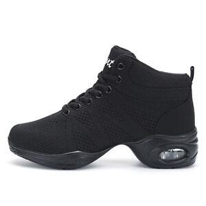Women Modern dance  Gym Hip Hop Jazz Square Grils Shoes Outdoor Breathable